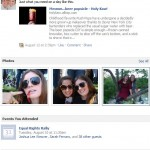 Facebook Friendship Snapshots